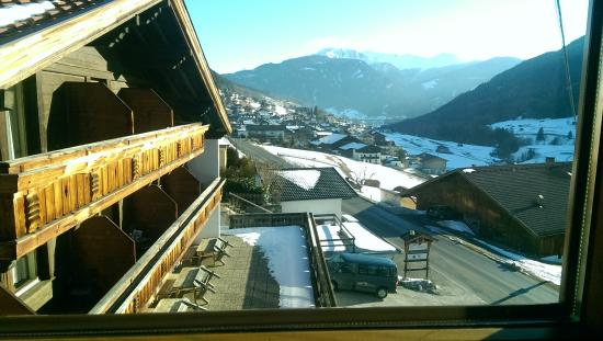 Hotel Hohe Burg: view from room