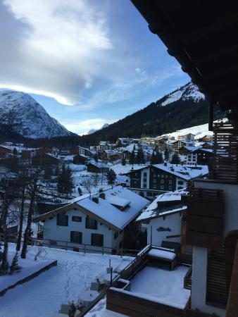 Der Berghof: View from balcony