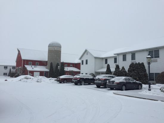 Farmstead Inn: Farm fresh!