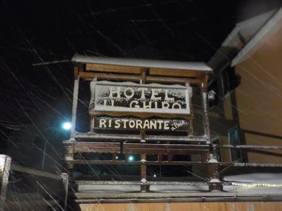 Hotel il Ghiro : Il ghiro e la neve