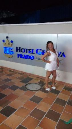 Hotel Genova Prado : ENTRADA PRINCIPAL