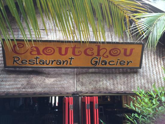 Caoutchouc Restaurant : name of restaurant