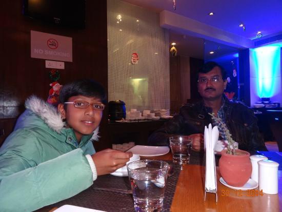 Royal Orchid Central Jaipur: The restaurant