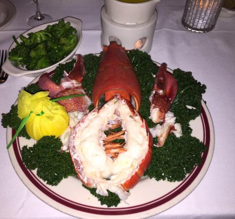 Ryan's Steak Chops & Seafood: The 2 lb fresh Maine lobster was amazing.