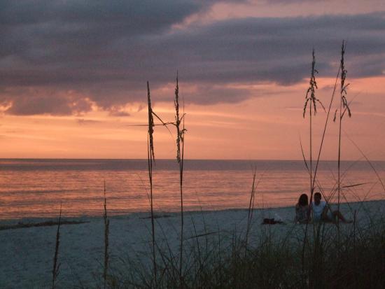 Lowdermilk Beach: sunset