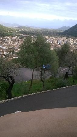 Hotel Son Sant Jordi: view from the top of the steps