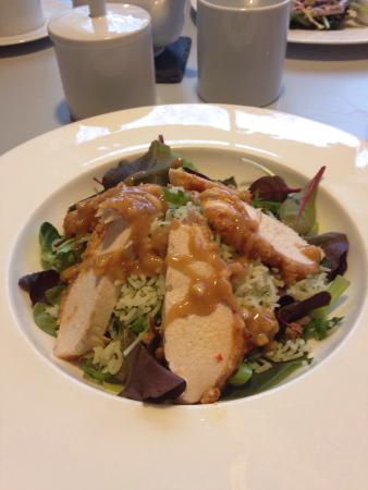 David Mellor Cafe: Satay chicken salad with lime rice
