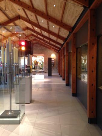 David Mellor Visitor Centre: Inside the visitors centre