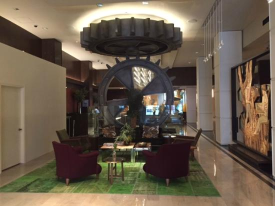 The Joule Dallas Hotel Lobby