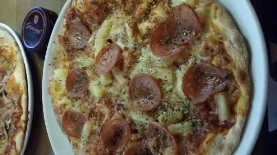 Pastafabrikken: Good pizza!