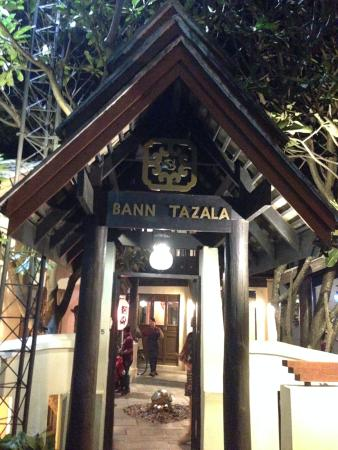 Bann Tazala: entrée