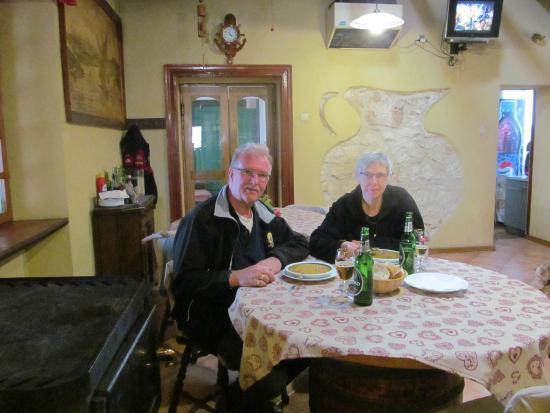 Banjole, Croacia: Het was erg gezellig en de Manestra was super !!