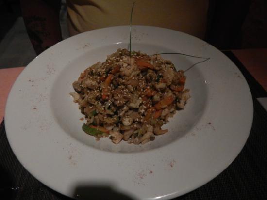 Zarabanda: seafood and rice