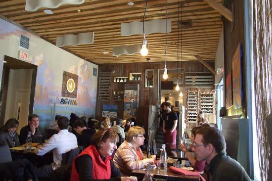 Agava restaurant at cornell university interior design - Cornell university interior design program ...