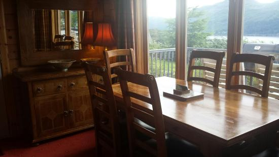 Lodges on Loch Ness: Fantastic inside dining area