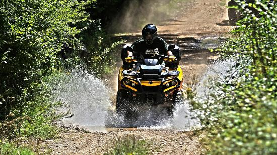 Quad Croatia: Quad & ATV Touren  Kroatien Malinska 01