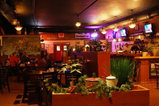 Inside Downhill Grill