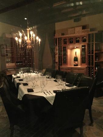 David S Restaurant Lounge Private Cellar Dining Room