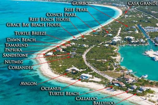 La Vista Azul Resort Map