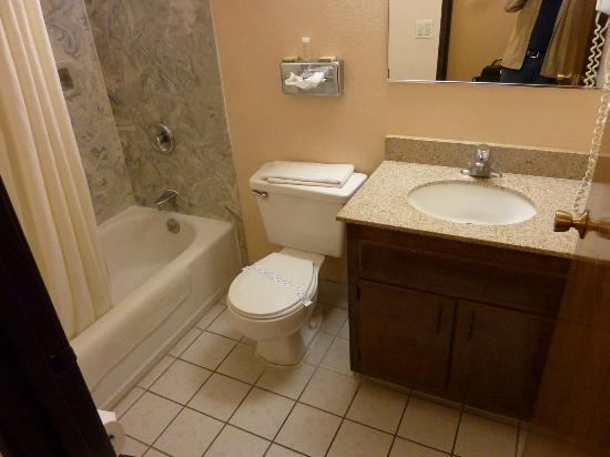 Super 8 Chico: Bathroom