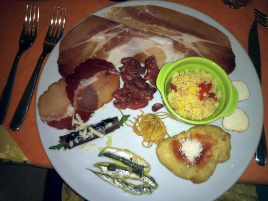 Santopadre, Ιταλία: l'antipasto