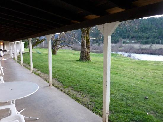 Happy Camp, Californië: Klamath River River Inn Resort