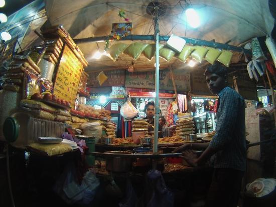 Kolkata Food Walk: One Of the stalls!