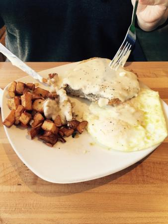 Superfly Martini Bar & Grill: Chicken fried steak