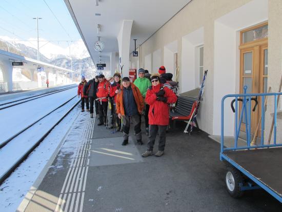 Hotel Acla-Filli: Stazione Zernez