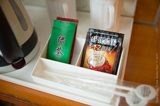 China Mayors Hotel: Чай, кофе