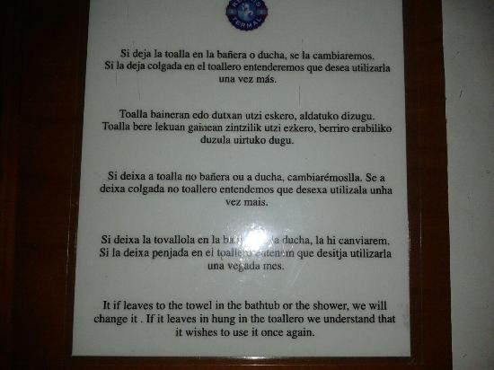 Balneario de Cestona: Toma Ya!!!