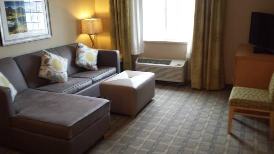 Holiday Inn Express Hotel & Suites Wheat Ridge-Denver West: living room