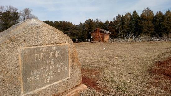 Fort Dobbs Monument