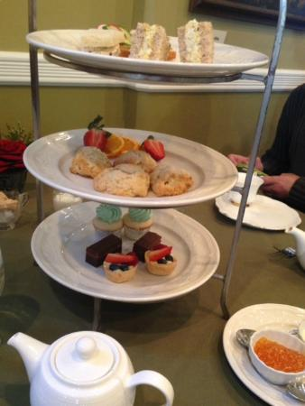 The Inn on Negley: high tea