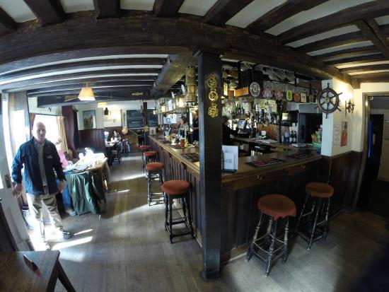 The Anchor Inn: The Anchor bar area