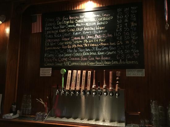 Crossroads Brewing: Beer listings