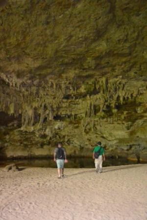 Rio Frio Cave: huge