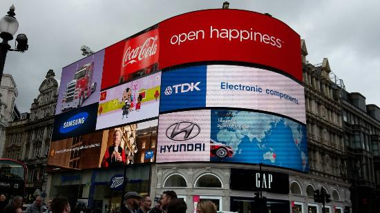 Piccadilly Circus: Février 2015