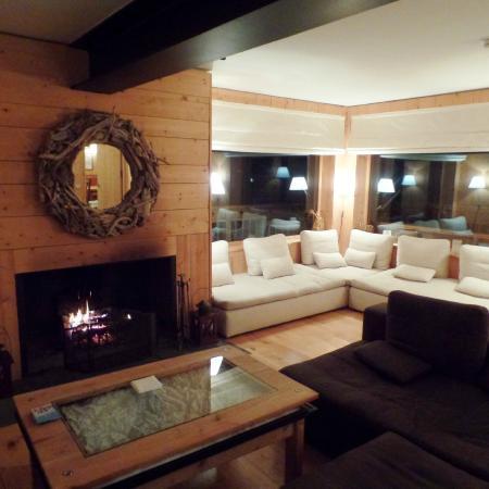 Delicious Mountain - Chalet La Chouette: living room