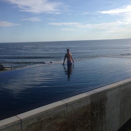 Playa VIK Jose Ignacio: Twilight swim @ Playa Vik
