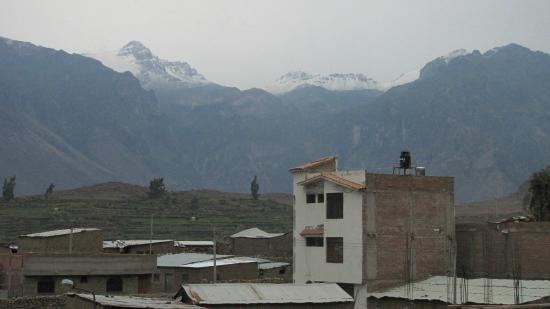 Pachamama: Vista desde la terraza