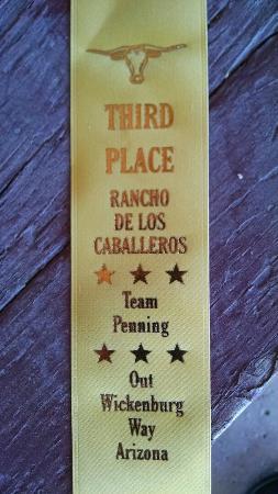 رانشو دي لوس كاباليروس: Team R&R winning bronze.