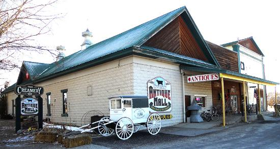 Stevensville, MT: Creamery Antiques Mall