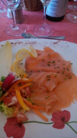 Vigneux-de-Bretagne, Frankreich: saumon fumé fait maison