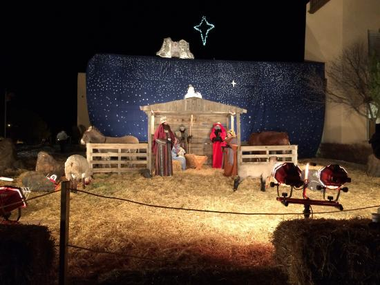 Live Nativity at the First Baptist Church of Santa Fe