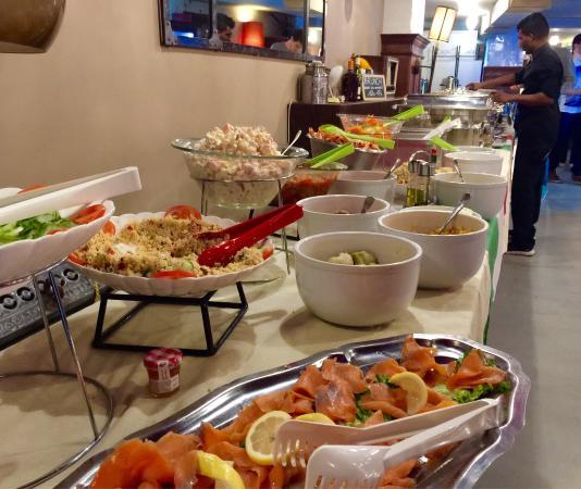 brunch buffet paris