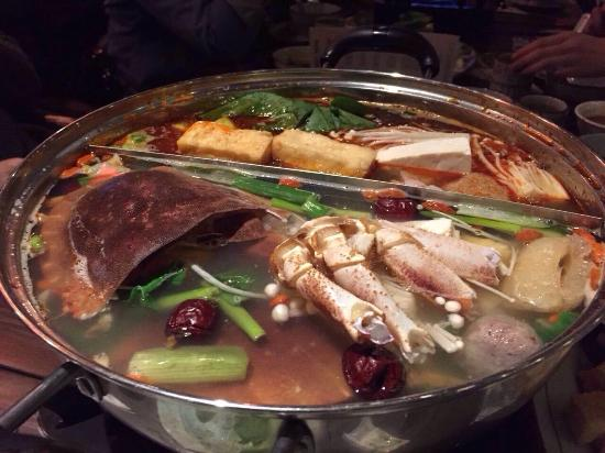 Genting Casino Glasgow: Chicken and spicy soup