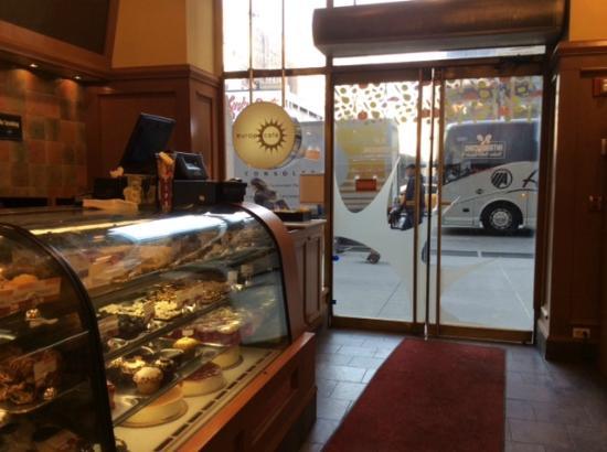 Europa Cafe: Checkout