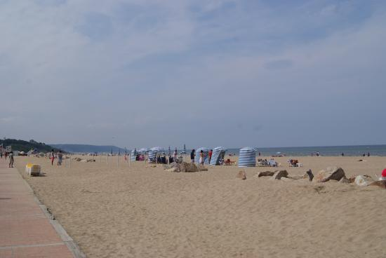 Tourgeville, Frankrike: la spiaggia 2