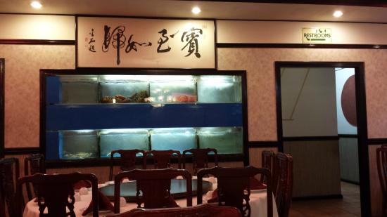 Silver Pond Restaurant: Fresh Seafood in Tanks